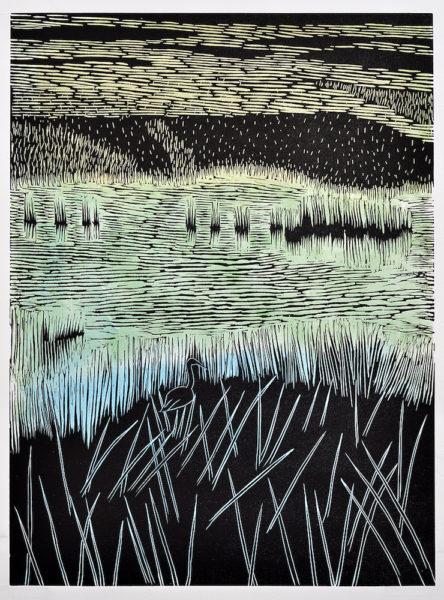 Marsh Scene, 2010