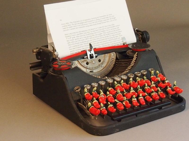 Typewriter: Brown Arneson Series, 2009