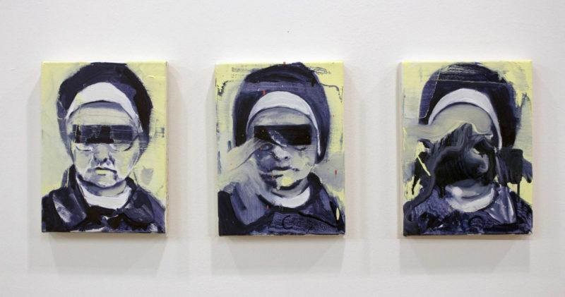 Nun (Triptych), 2017