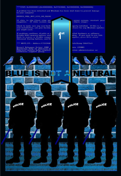 Blue is Not a Neutral, 2017