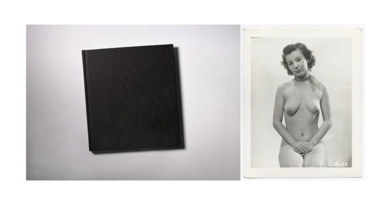 Constructed Realities (Black Book/Sad Nude), 2016