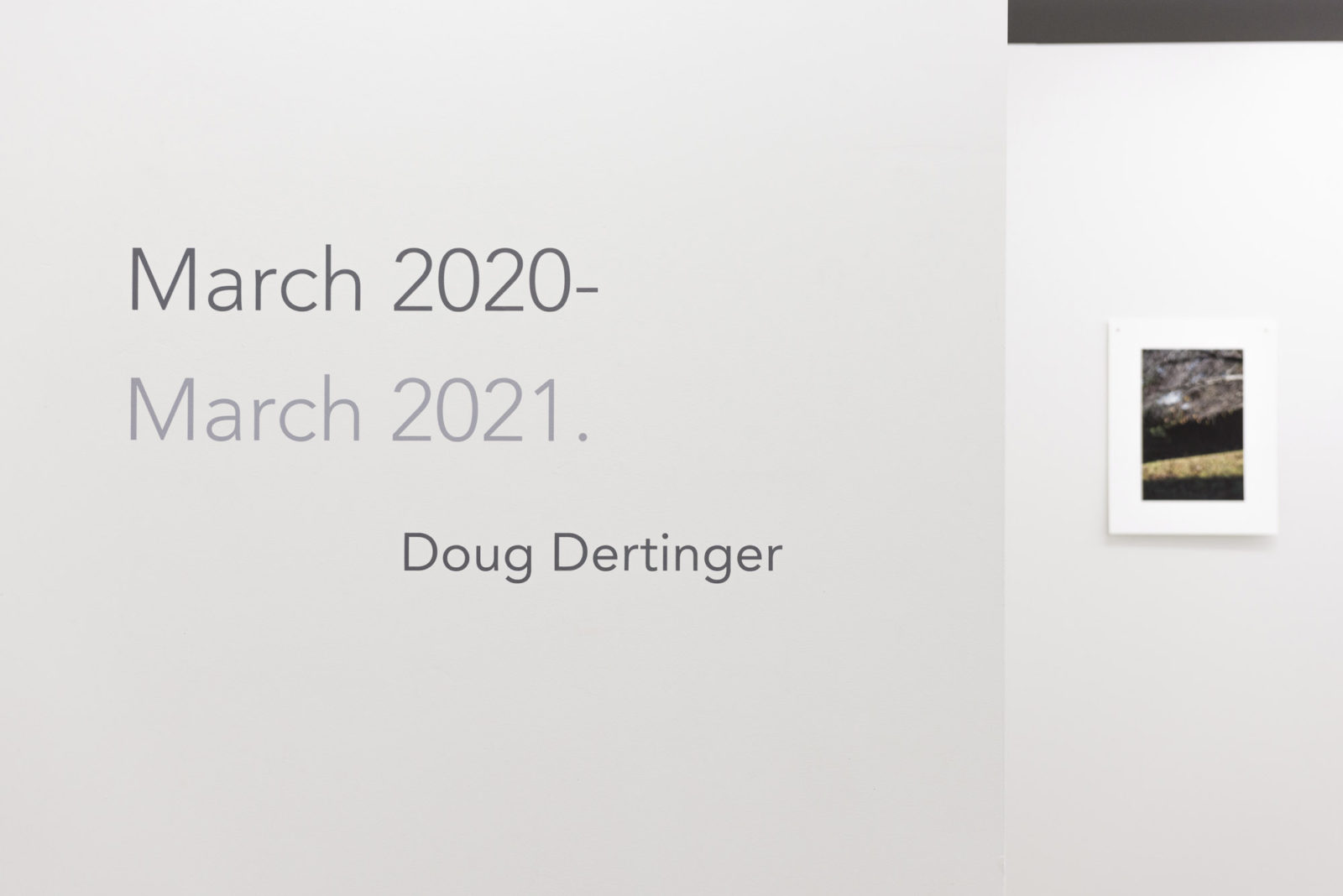 March 2020 – March 2021.